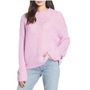 Chelsea 28 Crew Neck Pink Sweater